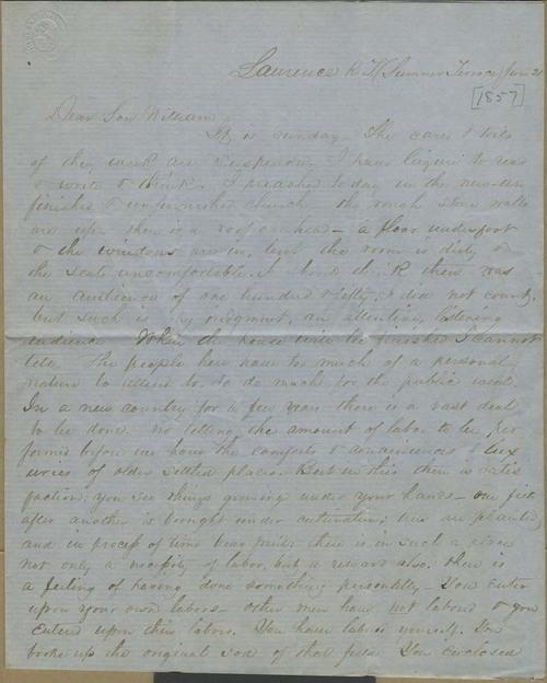 John Stillman Brown to William Brown - Page
