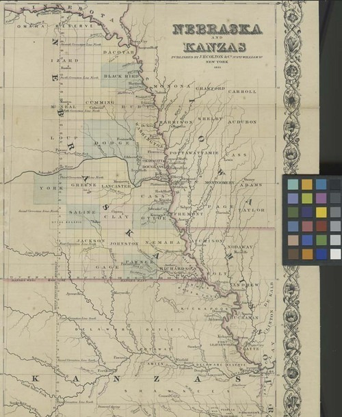 Nebraska and Kanzas - Page