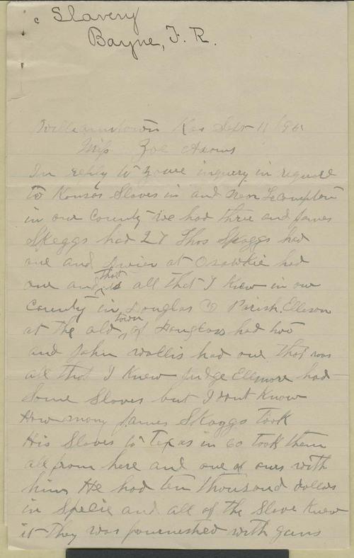 Thomas R. Bayne to Zu Adams - Page