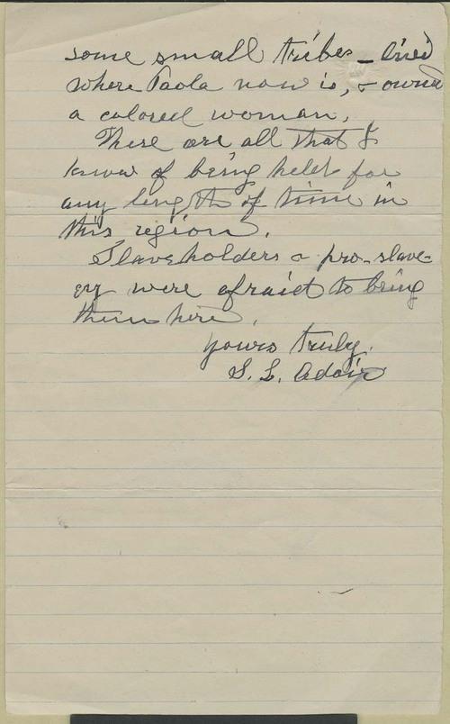 Samuel L. Adair to Zu Adams - Page