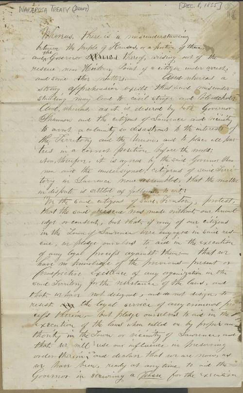 Wakarusa Treaty - Page