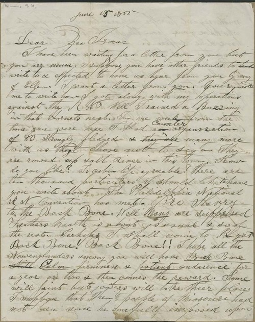 Lyman H. Whitney to  Isaac T. Goodnow - Page