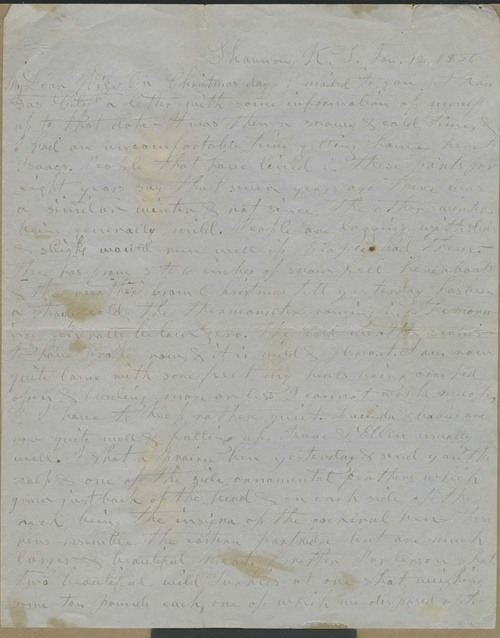 William E.Goodnow to Harriet Goodnow - Page