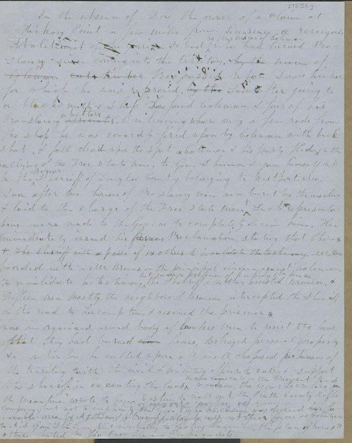 Isaac Tichenor Goodnow to Quereau - Page
