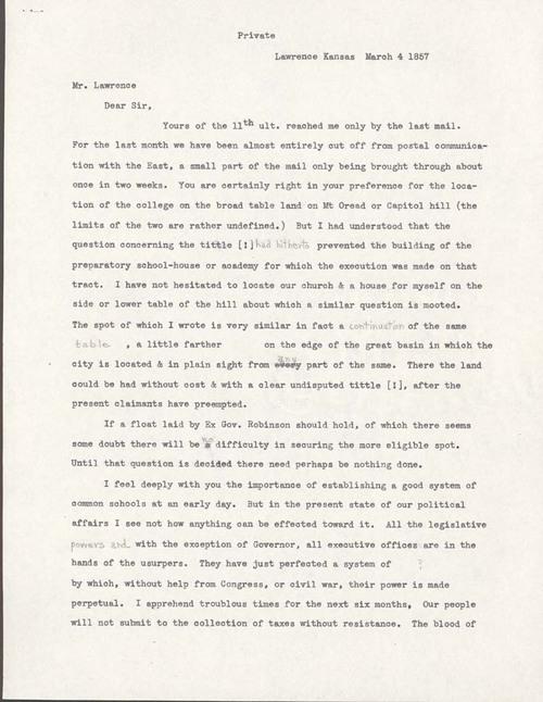 Ephraim Nute to Amos Adams Lawrence - Page