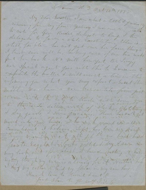 Issac Tichenor Goodnow to William E. Goodnow - Page
