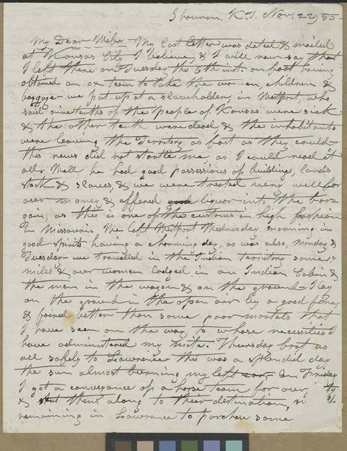 William E. Goodnow to Harriet Goodnow - Page