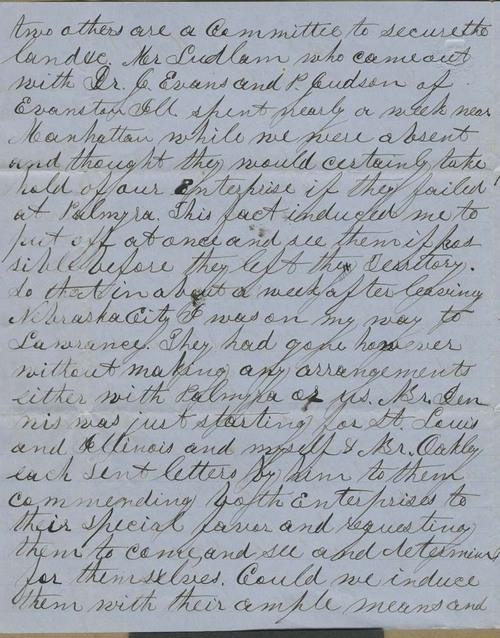 Joseph Denison to Isaac Tichenor Goodnow - Page