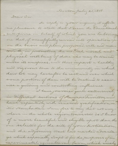 Thomas Hopkins Webb to Isaac Tichenor Goodnow - Page