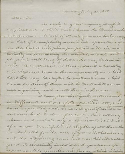 Thomas Hopkins Webb to Isaac Tichenor Goodnow - Page