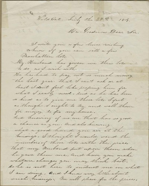 T. H. Houston to Isaac T. Goodnow - Page