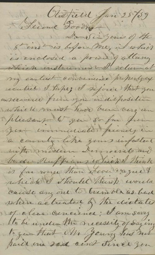 E.C. Andreas to William Goodnow - Page