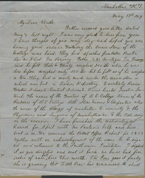 Henry L. Denison to Joseph Denison - Page