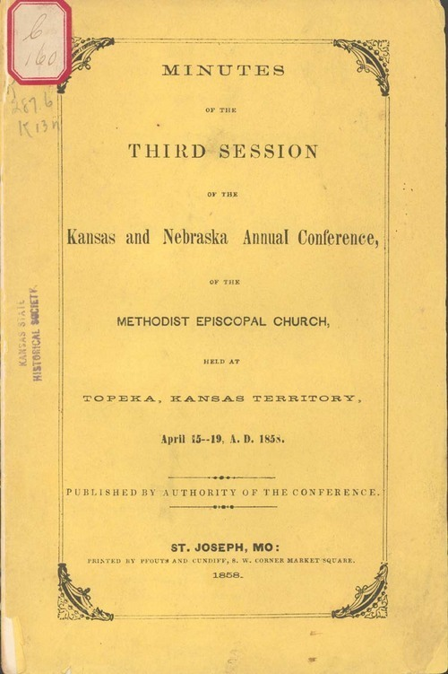 Kansas and Nebraska Annual Conference of the Methodist Episcopal Church, Minutes of the Third Session - Page