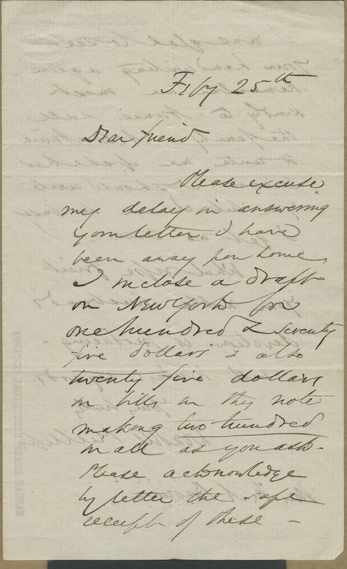 Wendell Phillips to Mary Brown - Page