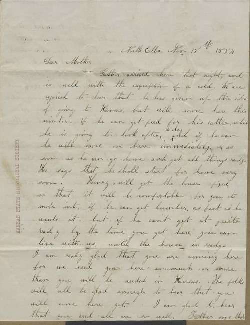 Ruth Brown Thompson to Mary Brown - Page