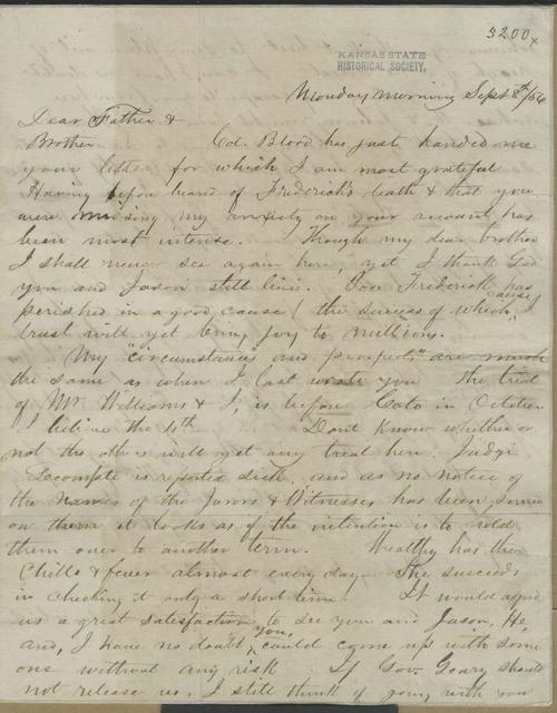 John Brown, Jr., to John Brown - Page