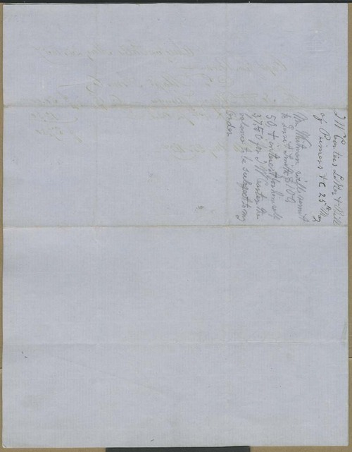 T.W. Carter to John Brown - Page