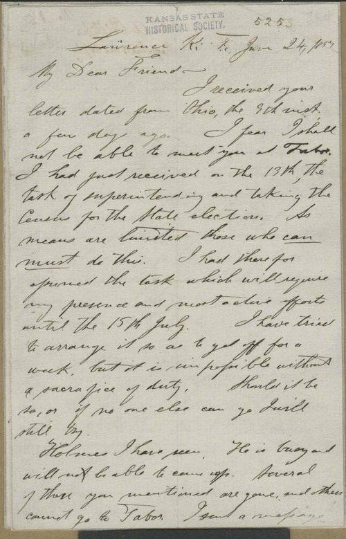 William Addison Phillips to John Brown - Page