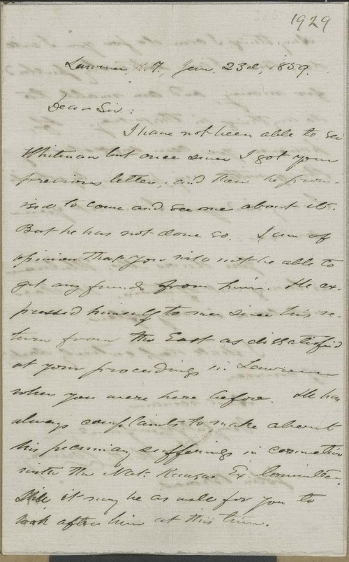 Martin Franklin Conway to John Brown - Page