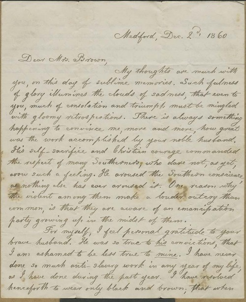 Lydia Maria Francis Child to Mary Brown - Page