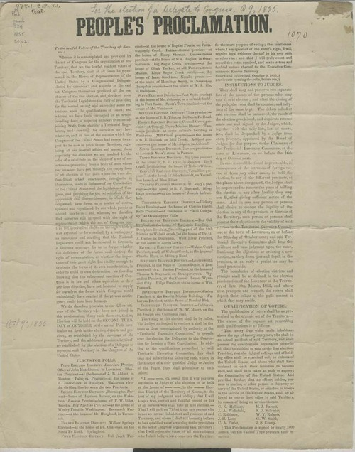 People's Proclamation - Page