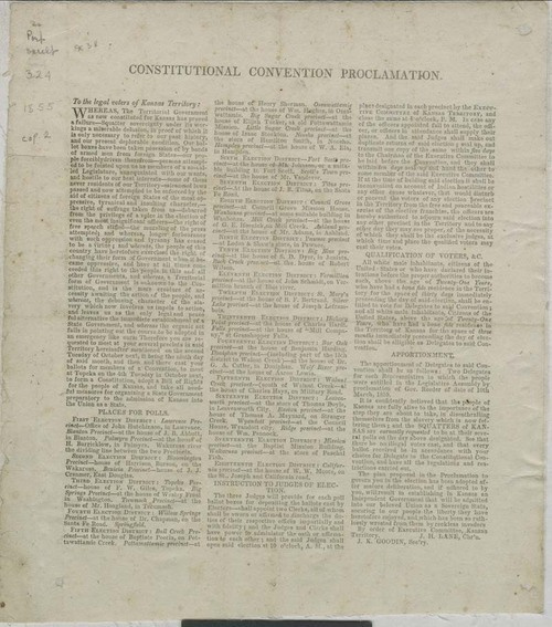 Constitutional Convention Proclamation - Page