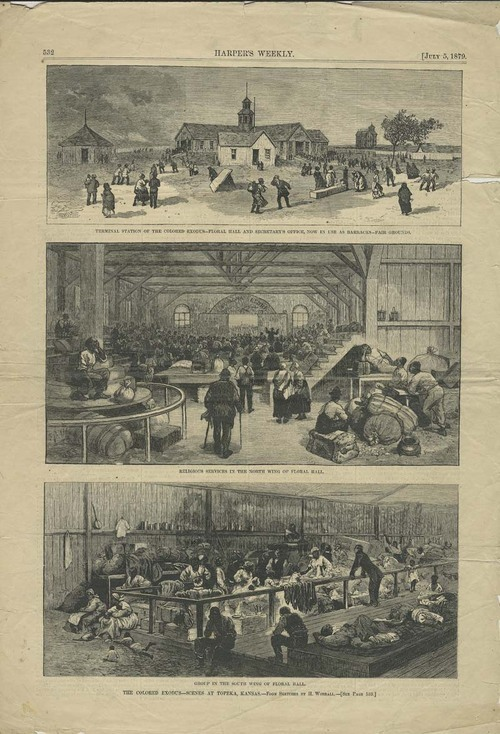 Harper's Weekly newspaper page - Page