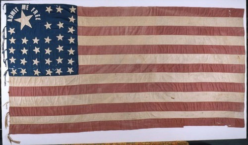 Admit Me Free flag - Page