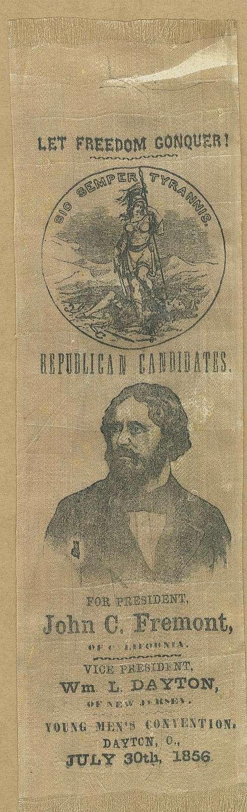 John C. Fremont political ribbon - Page
