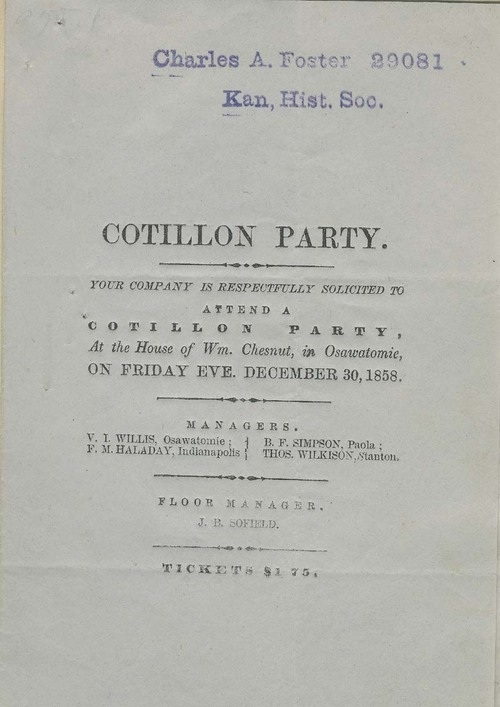 Cotillon Party - Page