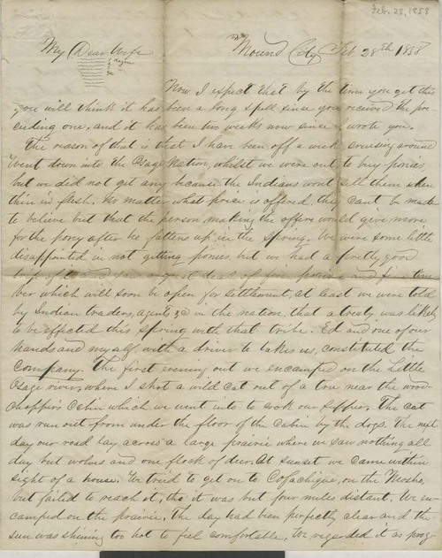Joseph H. Trego to Alice Trego - Page