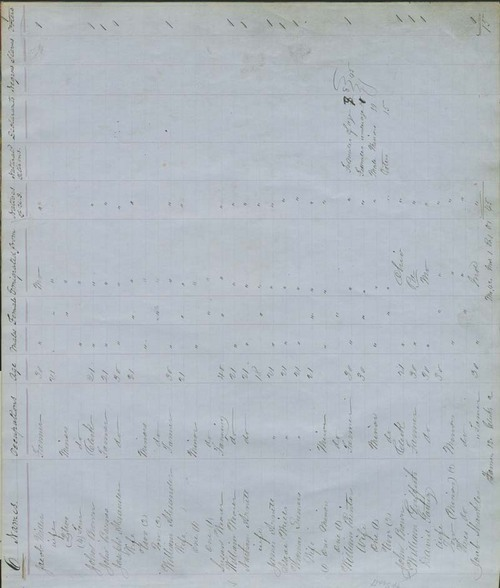 Territorial Census, 1855, District 6 - Page