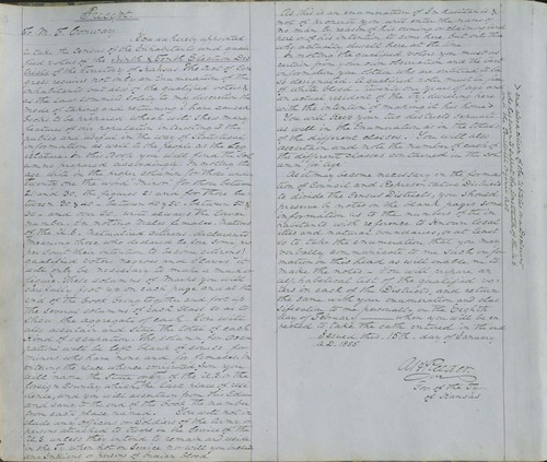 Territorial Census, 1855, District 9 - Page