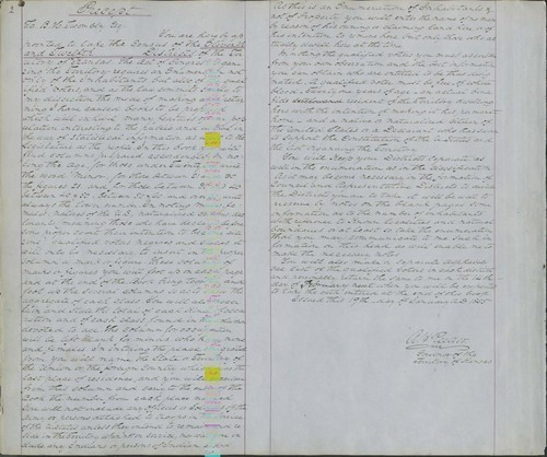 Territorial Census, 1855, District 11 - Page