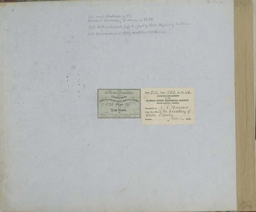 Territorial Census, 1855, District 13 - Page