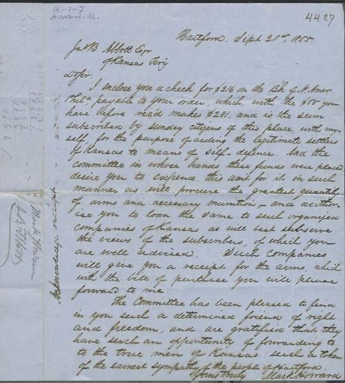 Mark Howard to James B. Abbott - Page