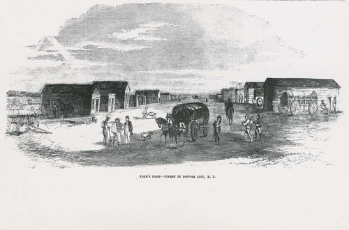 Pike's Peak-Street in Denver City, Kansas Territory - Page