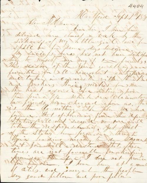 James B. Abbott to James H. Lane - Page