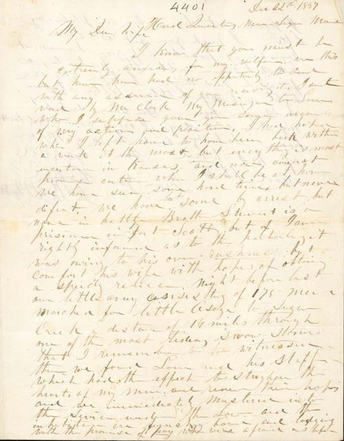 James B. Abbott to Elizabeth W. Abbott - Page
