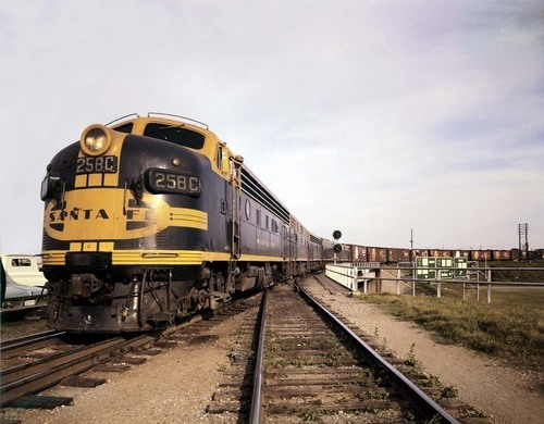 Atchison, Topeka & Santa Fe Railway Company's Texas Expediter train, Fort Worth, Texas - Page