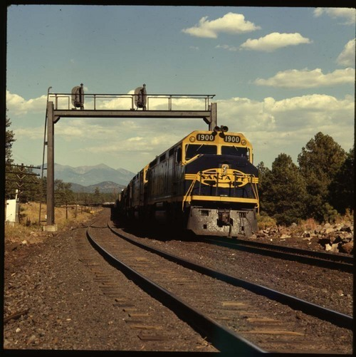 Train, Northern Arizona - Page