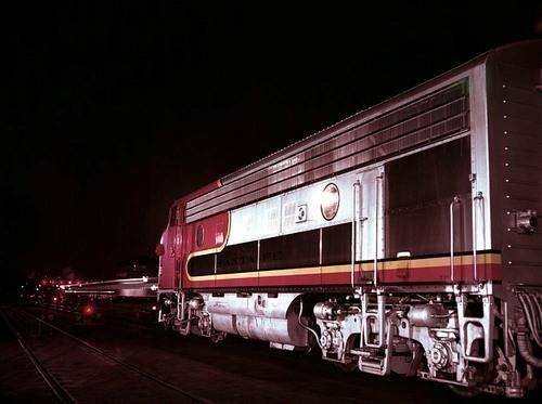 """""""San Diegan"""" train, Los Angeles, California - Page"""