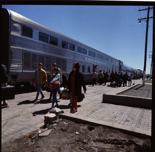 """El Capitan"" train, Raton, New Mexico - Page"