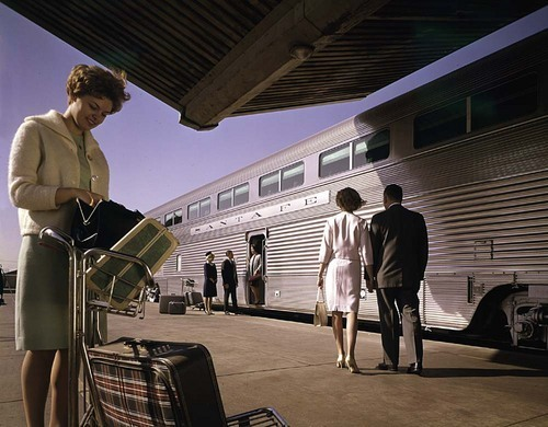 Atchison, Topeka & Santa Fe Railway's El Capitan passenger train - Page