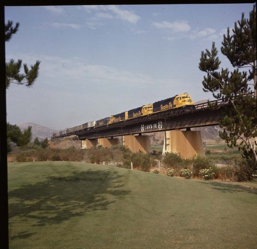 "Santa Fe ""Super C"" train, Corona, California - Page"