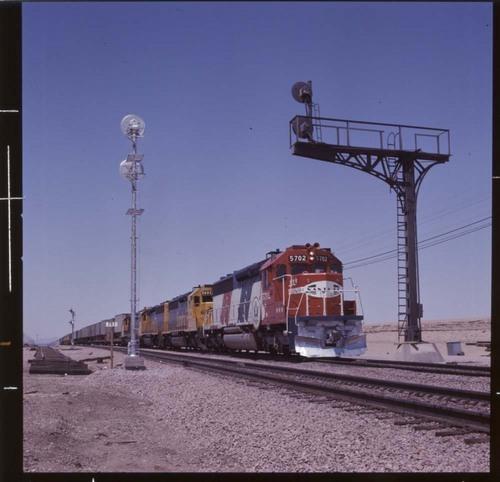 """Super C"" bicentennial train, Barstow, California - Page"