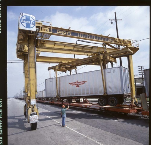 Drott straddle loader, Los Angeles, California - Page