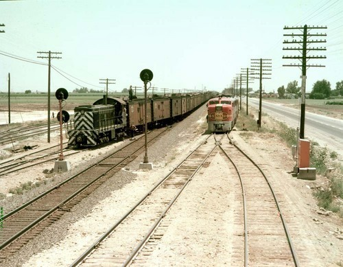 C.T.C. siding, Shafter, California - Page