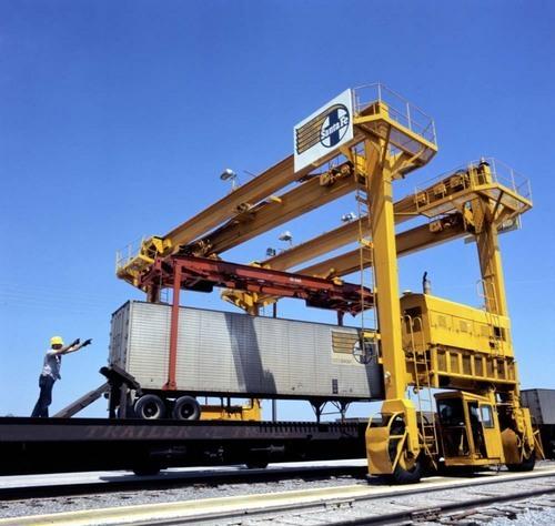 AT&SF Drott straddle loader - Page